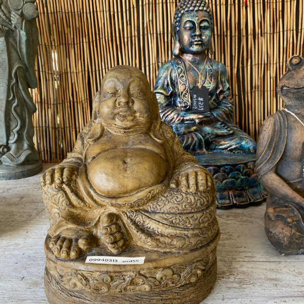 Ethans Courtyard and Patio | Meditating Buddha Garden Statue | Bonita Springs | Water Fountains, Wall Fountains, Mailboxes, and more
