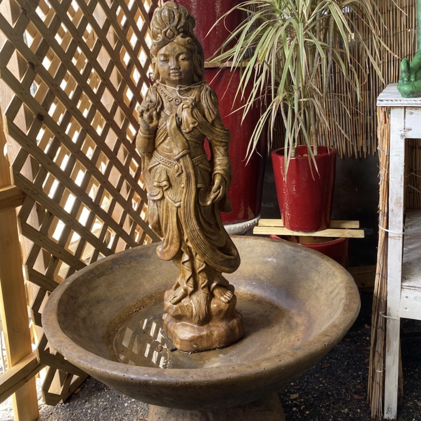 Ethans Courtyard and Patio   Bonita Springs   Large Water Fountains, Outdoor Water Features, and more