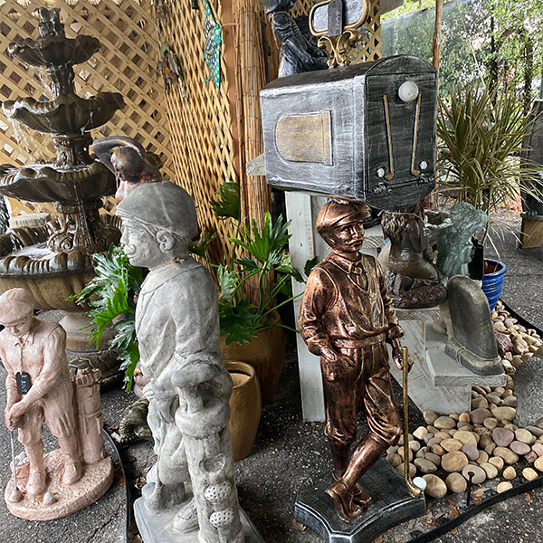 Ethans Courtyard and Patio   Bonita Springs   Water Fountains, Wall Fountains, Mailboxes, and more