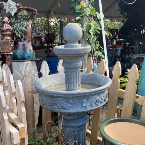 Ethans Courtyard and Patio | Patio Water Fountains